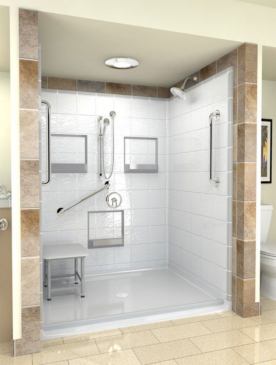 nice 99 Cool Wheelchair Accessible Bathroom Design http://www ...