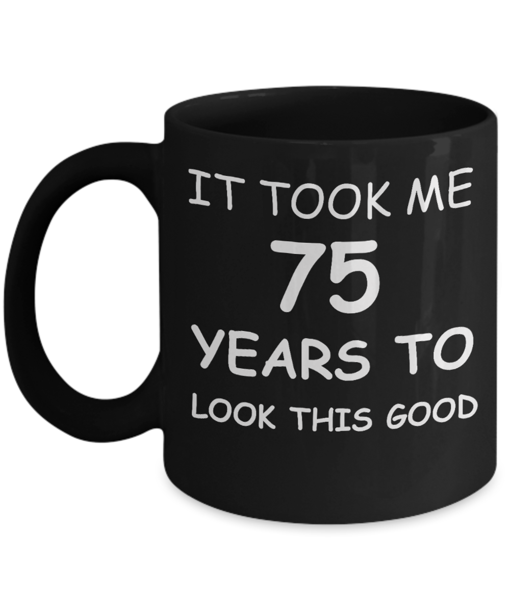 75th Birthday Gifts For Men Women Gift Mugs