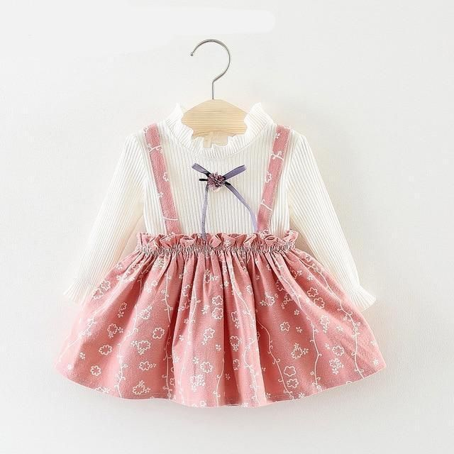 924bcf66abeef Baby Girl Winter Princess Dress New Year Costume for Children ...