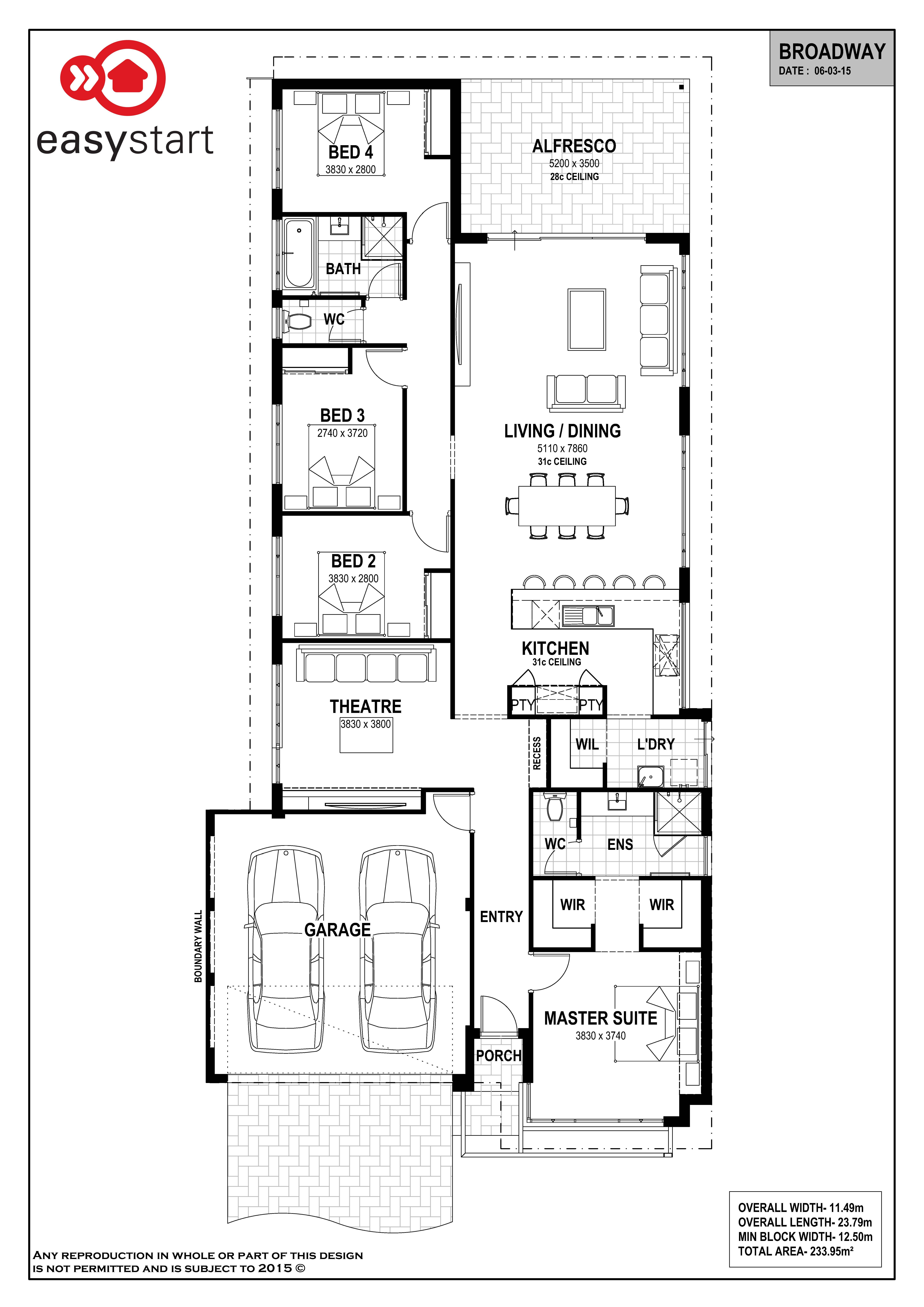 The Broadway Is A Spacious Home With The Living And
