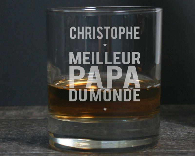 Verre whisky est.. Cadeau pour Lui Homme Fête des pères Anniversaire Idée Cadeau