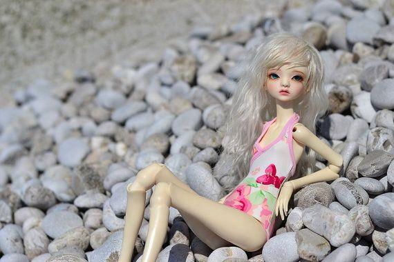 Swimsuit for Minifee DC bjd doll by CandyDollShop on Etsy