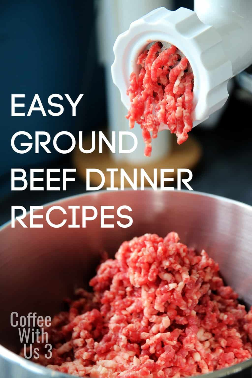 Ground beef is one of the easiest meats to cook with. You ...