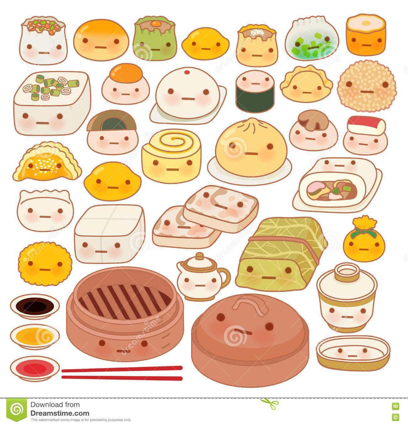 Image Result For Asian Food Doodle Kawaii Drawings Cute