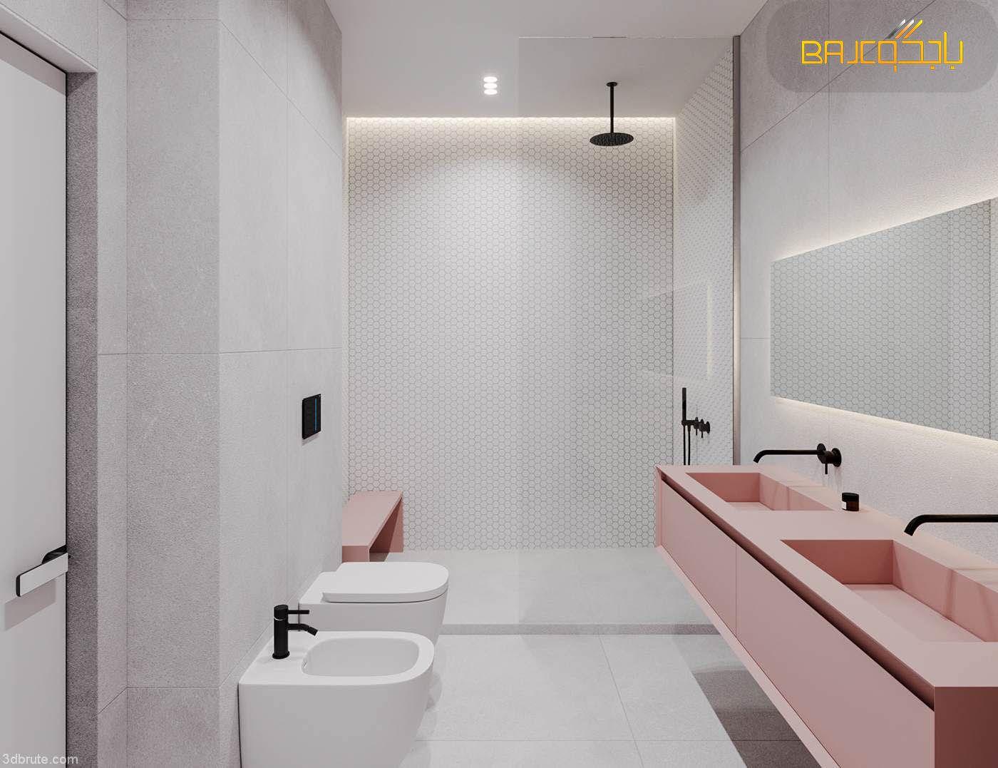 رخام صناعي Contemporary Bathroom Designs Modern Bathroom Decor Bathroom Design
