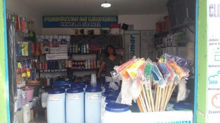 Traspaso Negocio De Productos De Limpieza Y Jarcieria En Iztacalco