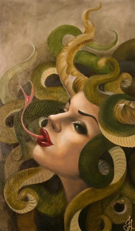 La Medusa Mitologia Griega Arte De Medusas Mitología Producción Artística
