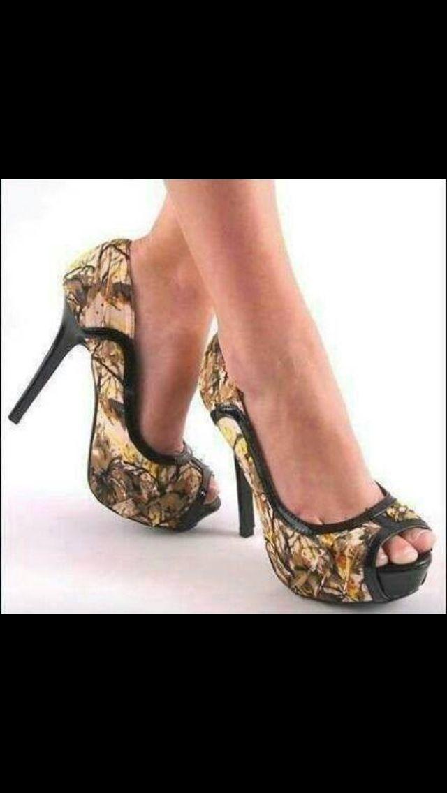 Camo Shoes Ahhh