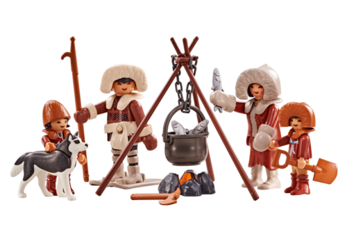 Playmobil 6559 Polar Arctic Family With Kids And Dog New Playmobil Cool Toys Baby Strollers