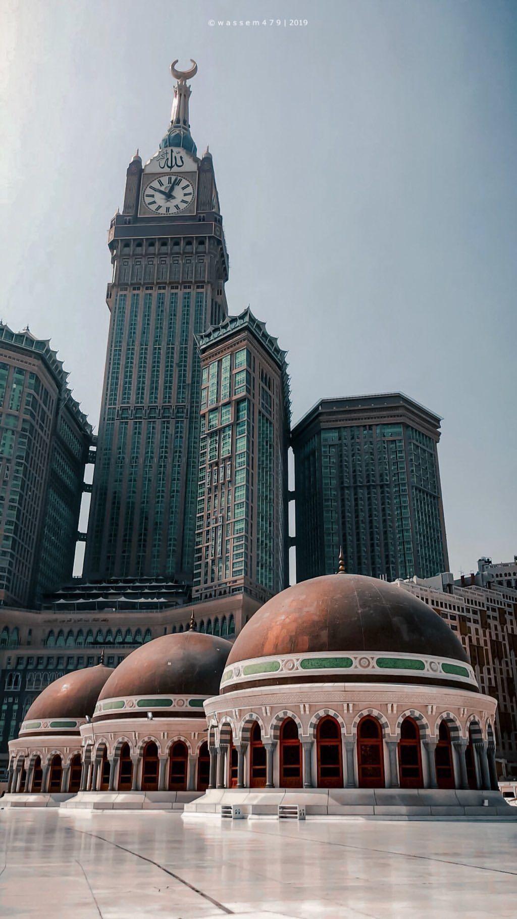 Pin Oleh فتاة الإسلام Di Makkah Arsitektur Masjid Arsitektur Mekah