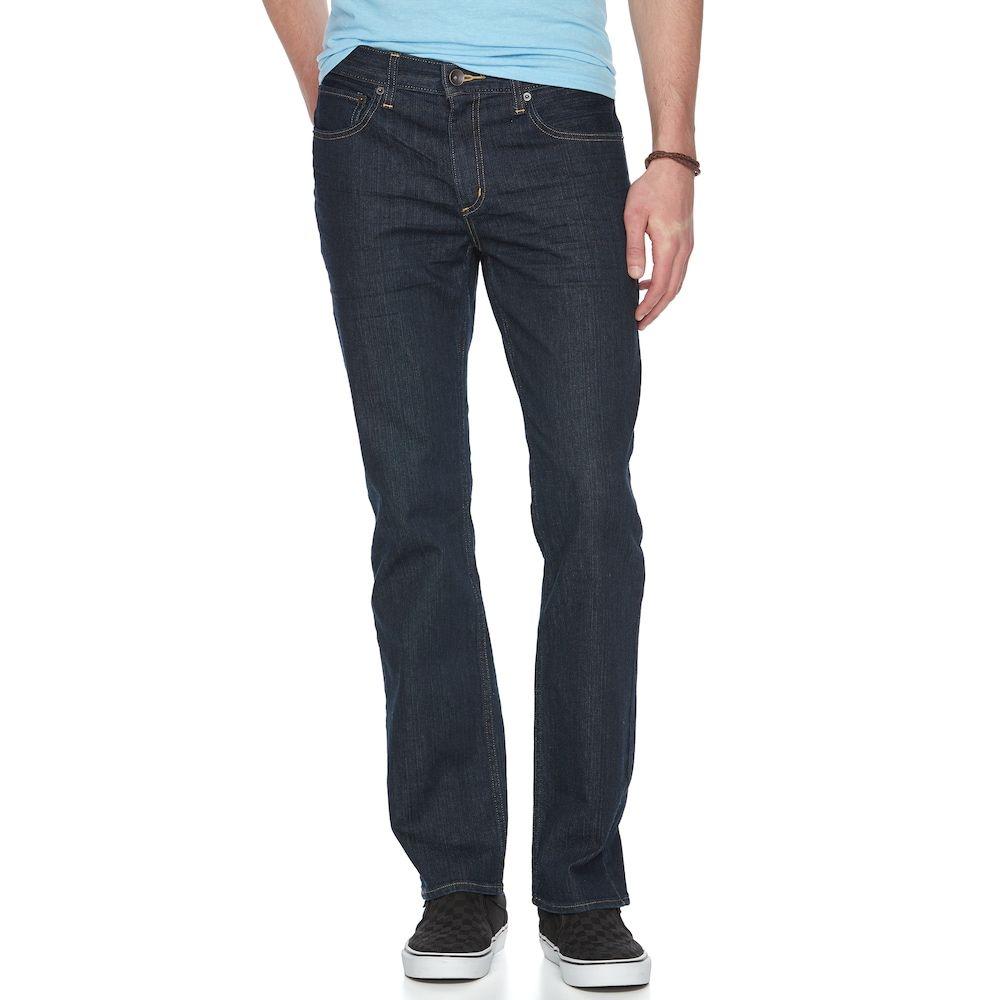 359c28385d Men's Urban Pipeline Slim-Fit Straight-Leg Jeans, Size: 33X30, Dark Blue