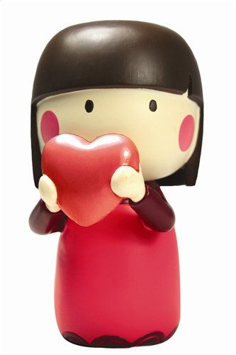 GIGGLES  by Lili Bunny resin figure asian Secret Message MOMIJI Doll