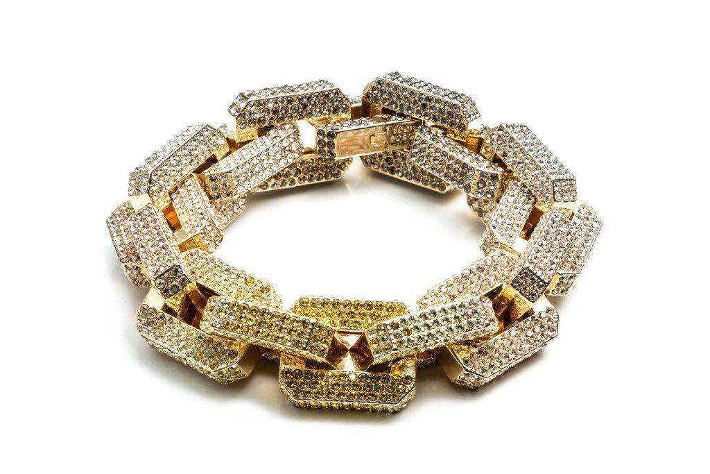 Eddie Borgo Resort 2014 Collection Link Bracelets