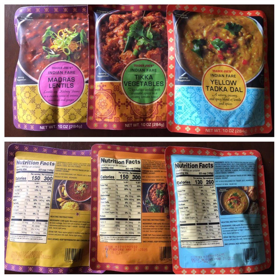 Best Trader Joes Products 2020.Just Discovered Trader Joe S Indian Food And I Want To Shout