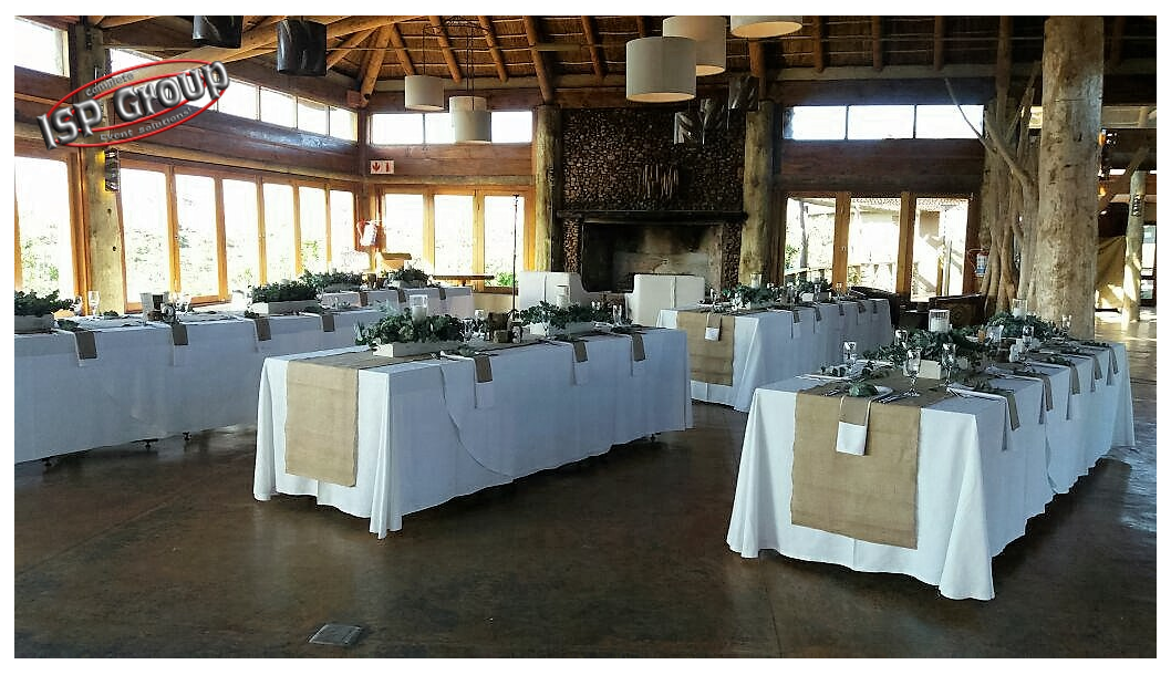 Reception Area For Chris And Laurens Wedding Garden Route Game