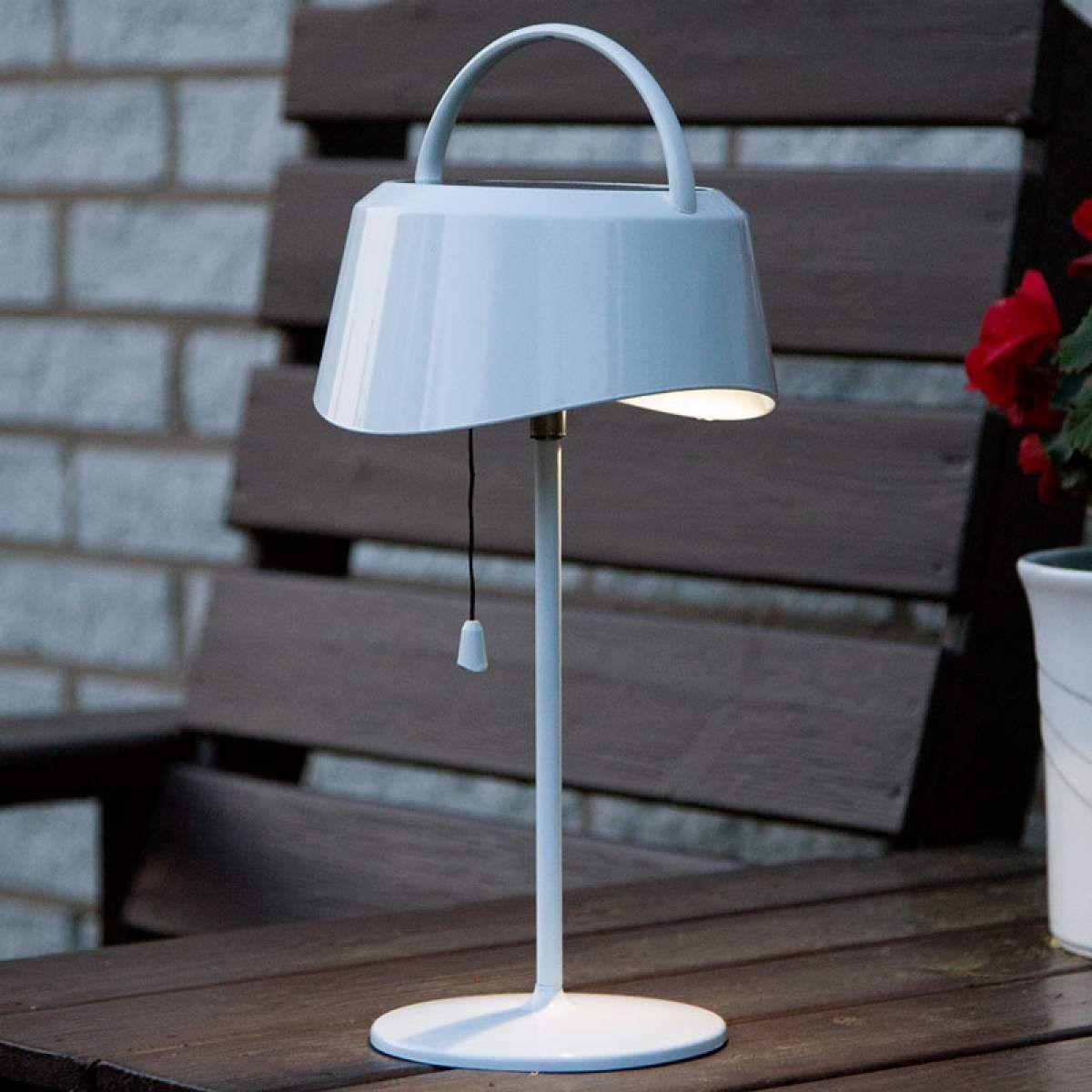 Solarbetriebene Led Tischlampe Cervia Neigbar Led Tischlampe Tischlampen Und Lampen