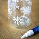 snowflake crafts lanterns