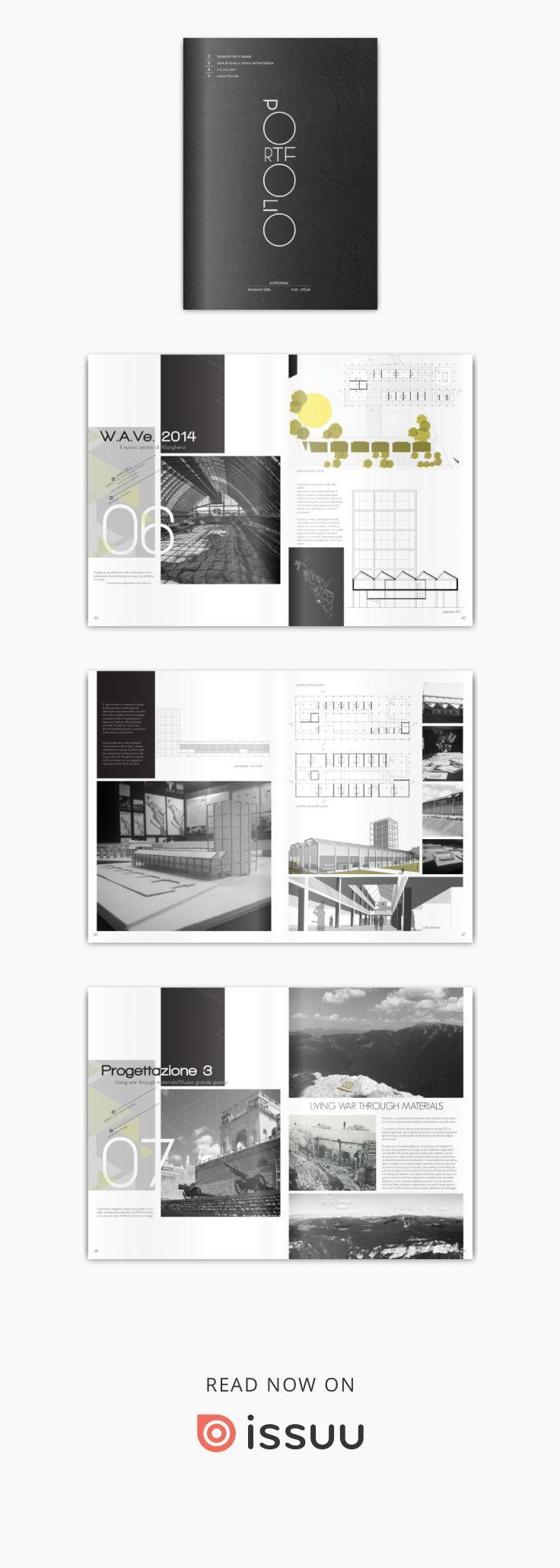 portfolio d u0026 39 architettura iuav