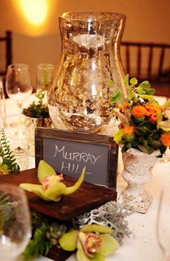 A Large Mercury Gl Vase Subs For Huge Flower Arrangement Wedding Centerpiece