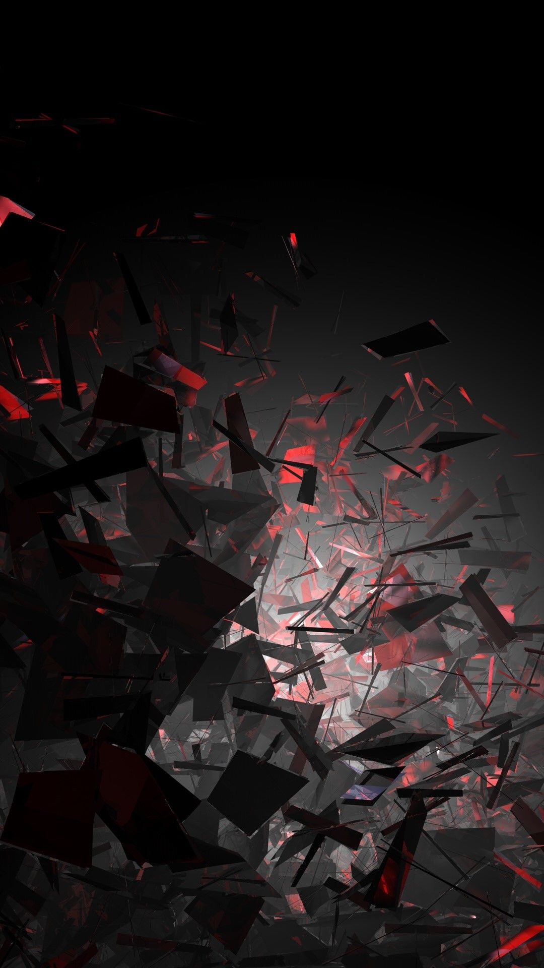 Broken Pieces Tap To See More Cool 3d Abstract Iphone Wallpapers