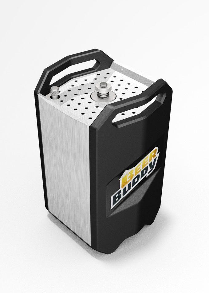 Beer Buddy: Bottoms Up Beer Dispenser | Top Kitchen Gadgets | Pinterest