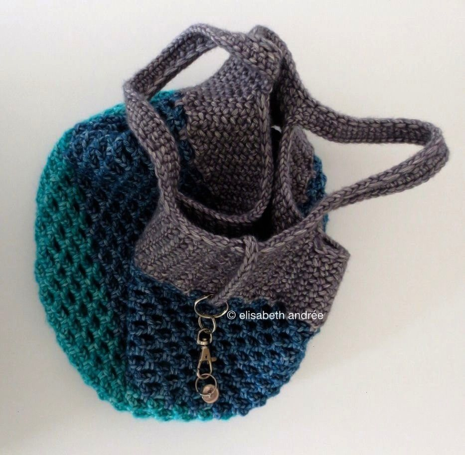 #häkeltaschen #tutorial #crochet #shopper #colors #small    Knit bags have always been one of the most popular models of handbags, whether hand-made or ready-made. Wicker bags, crocheted bags, macramé bags, corduroy mesh bags and more. Crocheted bag making is always the most interesting type of bag making. You can choose any motif you wish to make this bag. You can use thick velvet ropes, Wicker ropes or one of the mercerized rope... #colors #Crochet #häkeltaschen #shopper #Small #Tutorial