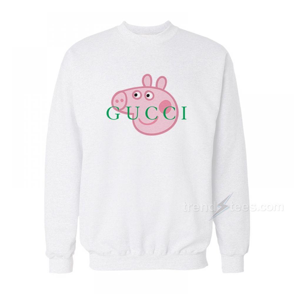a0ec584f282 Peppa Pig Gucci Head Logo Sweatshirt Unisex For Women s or Men s in ...