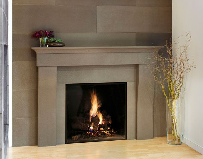 is a modern interpretation of a classic mantel a traditional