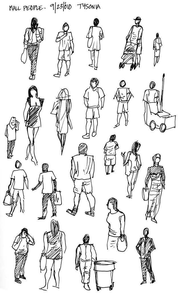 Drawing People....
