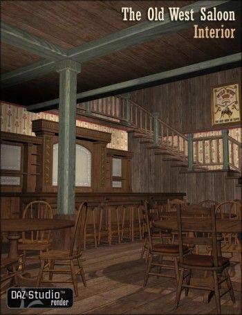 The Old West Saloon Interior Western Bar Decor