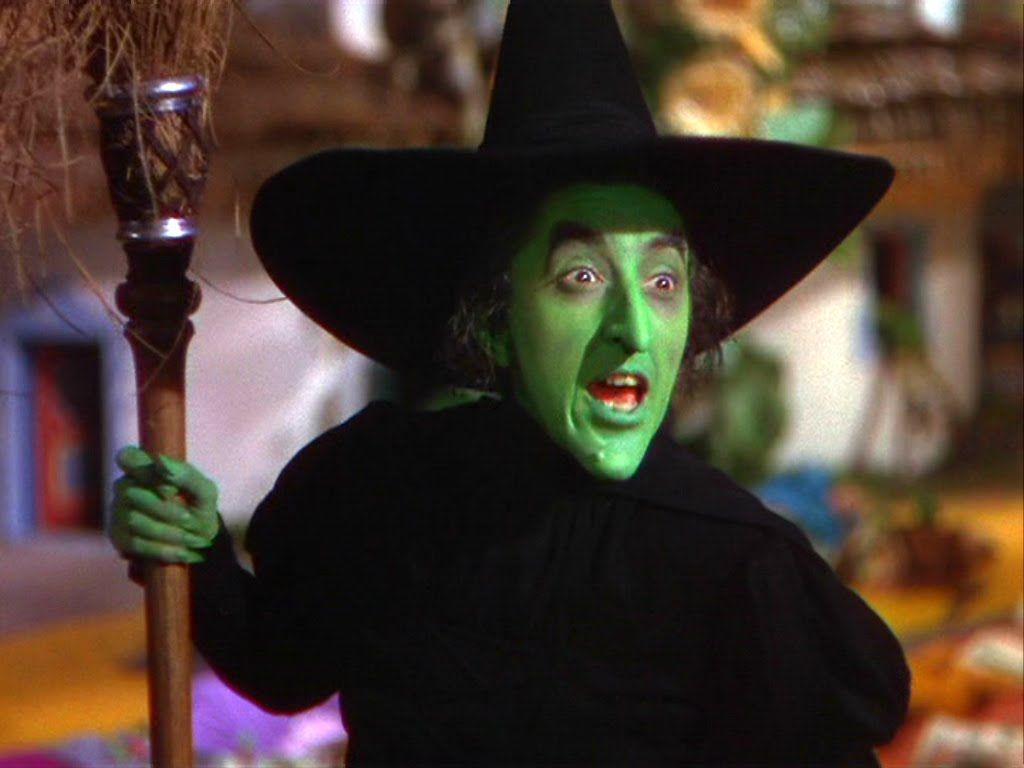 The Wicked Witch of the West- from The Wizard of Oz (1939). As a ...