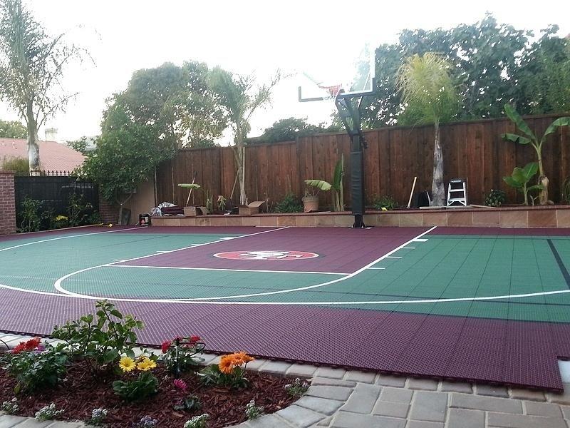 Backyard Basketball Court Ideas Basketball Court Gallery View Full Gallery Cheap Outdoor Basketball Court Backyard Outdoor Basketball Court Backyard Basketball