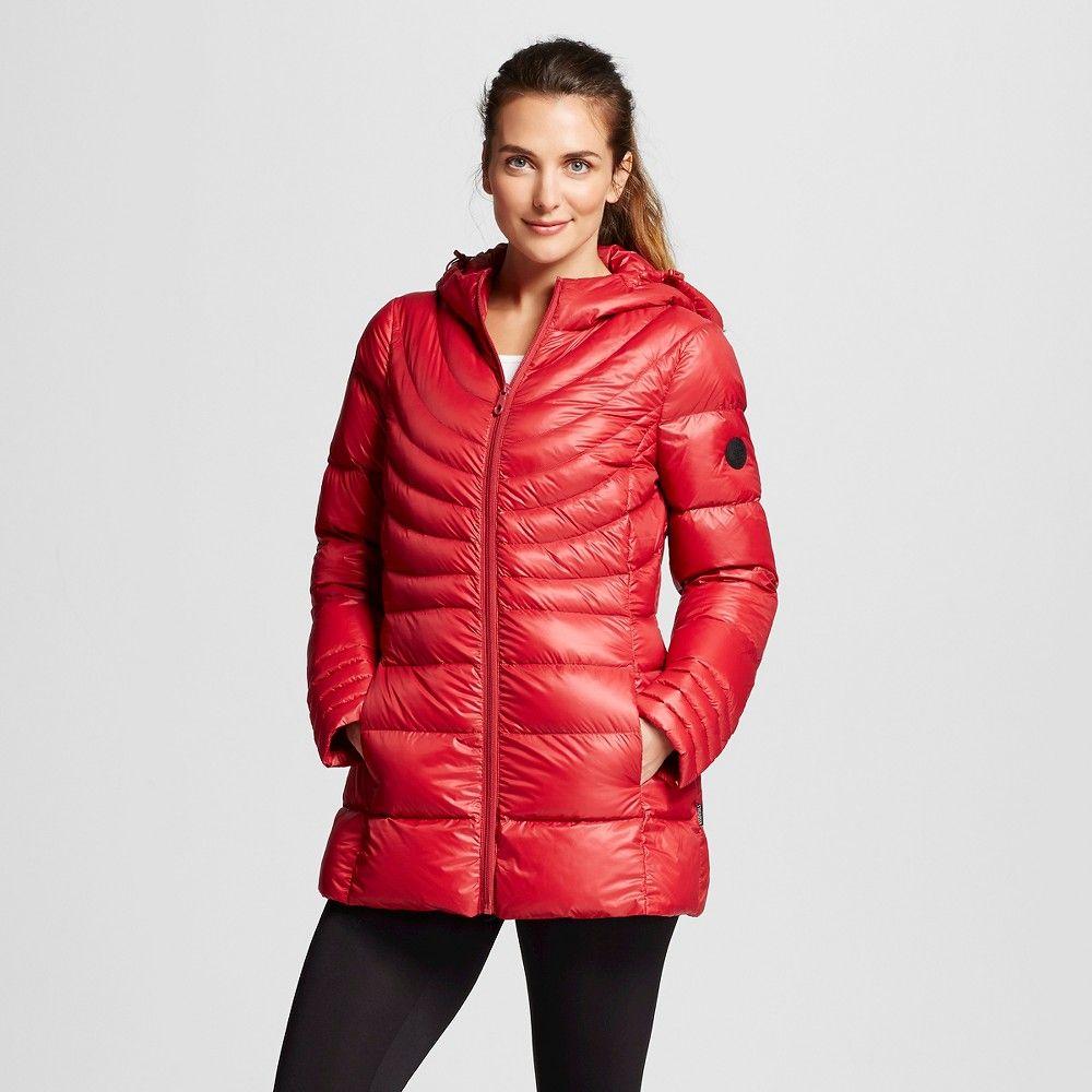 4480622244d Women s PrimaLoft Packable Puffer Jacket Carmine Red L - Arctic River