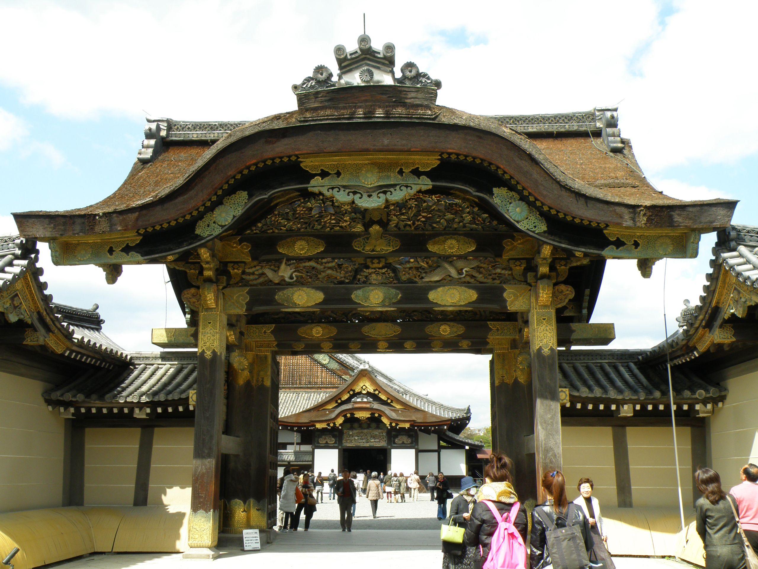 Castillo Nijo Kioto Japon Nijo Castle Kyoto Japan  # Puka Muebles Oriente