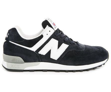 new arrival 0f7b1 457c9 Baskets Homme MenLook, achat Sneakers 576 Made in UK NEW BALANCE Cuir Bleu  Marine prix