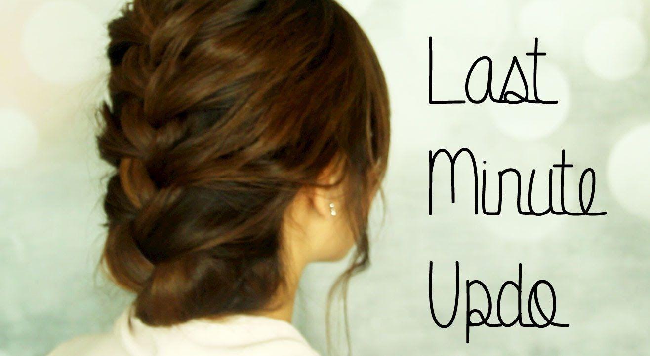 Last minute updo playlist hair pinterest updo hair style