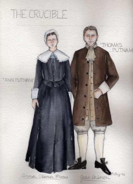 an analysis of the role of thomas putnam in the crucible a play by arthur miller 13-3-2016 in the play, the crucible, by arthur thomas putnam in the crucible miller, thomas putnam is married to ann putnam, and together have a daughter, ruth.