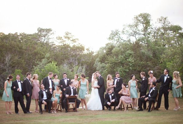 Pastel Texas Wedding by Kelly Hornberger - Southern Weddings Magazine
