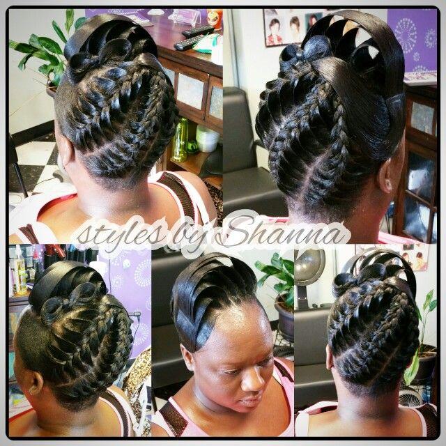 3d Braids Black Hair Updo Hairstyles Black Women Updo