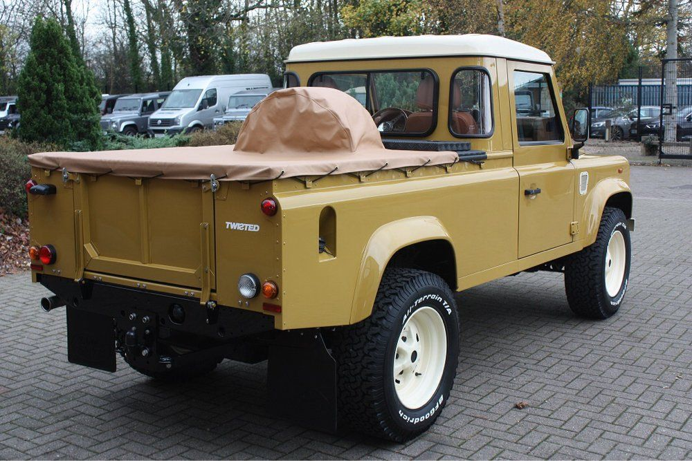 Land Rover Defender 110 pickup customized Twisted ICON in