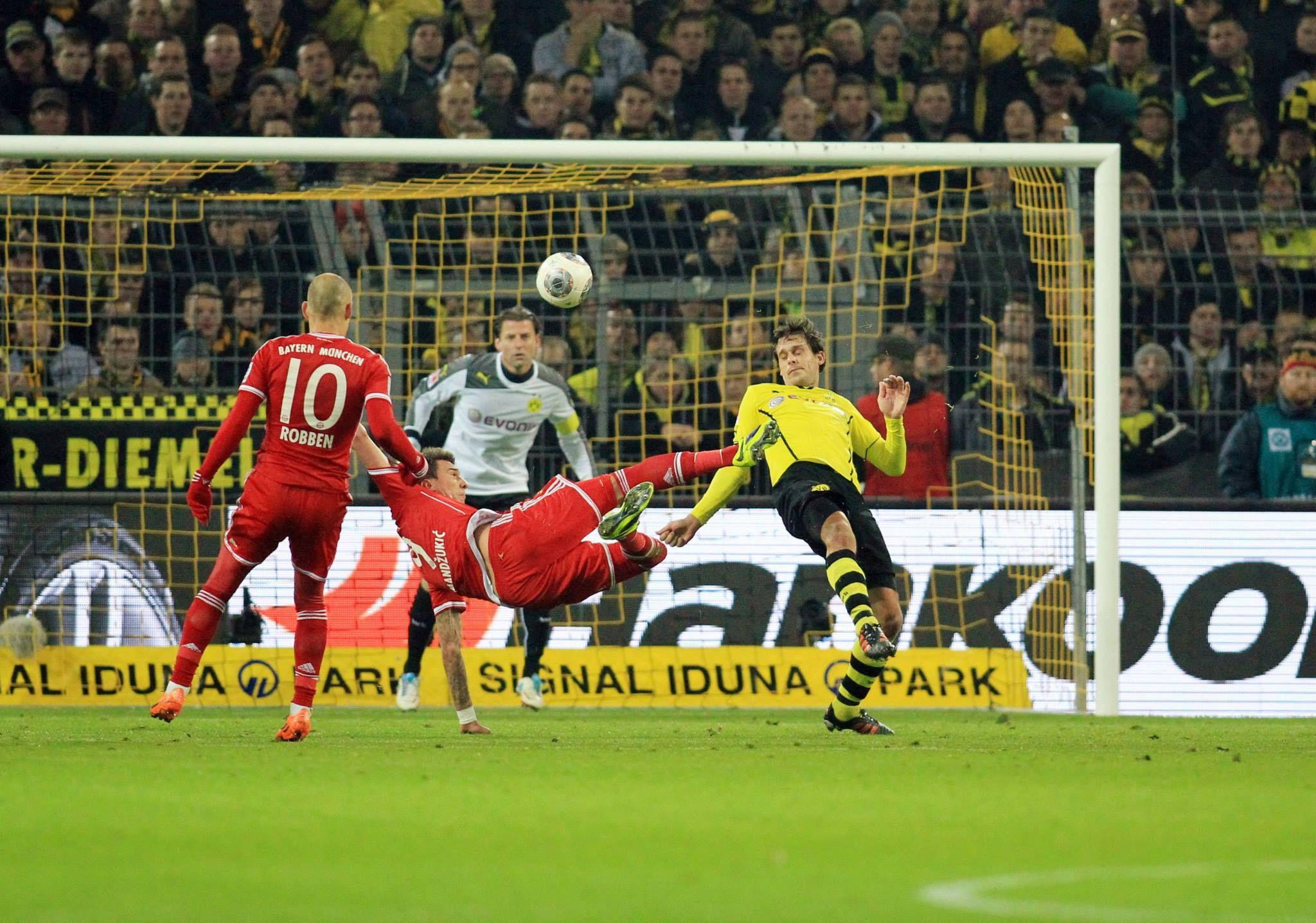 11/23/2013 Borussia Dortmund 0 - 3 FC Bayern München Goalscorer: Götze (66'), Robben (86'), Müller (88')