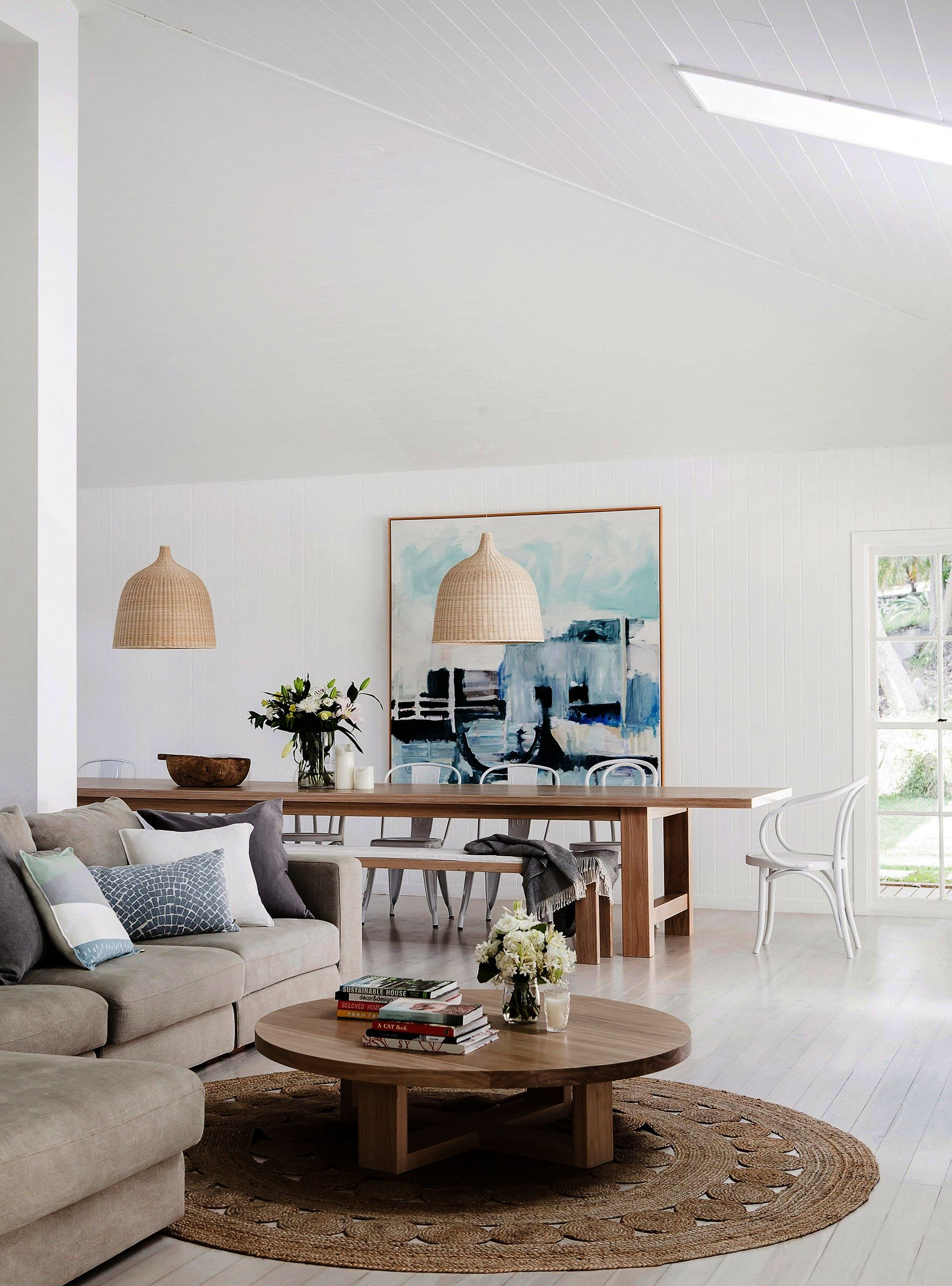 A Neutral Canvas In This [Modern Beachside Home]( On Sydneys