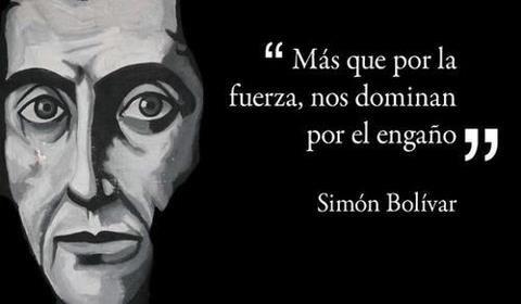 Palabras De Nuestro Libertador Simon Bolivar Frases