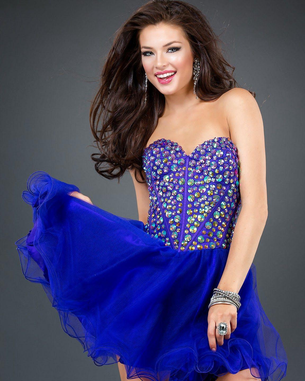 Bonitos Vestidos de 15 años - Moda 2014   Vestidos de Coctel ...