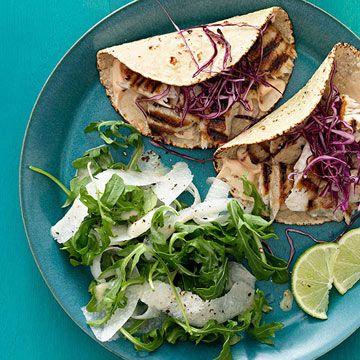 Grilled Fish Tacos - FamilyCircle.com