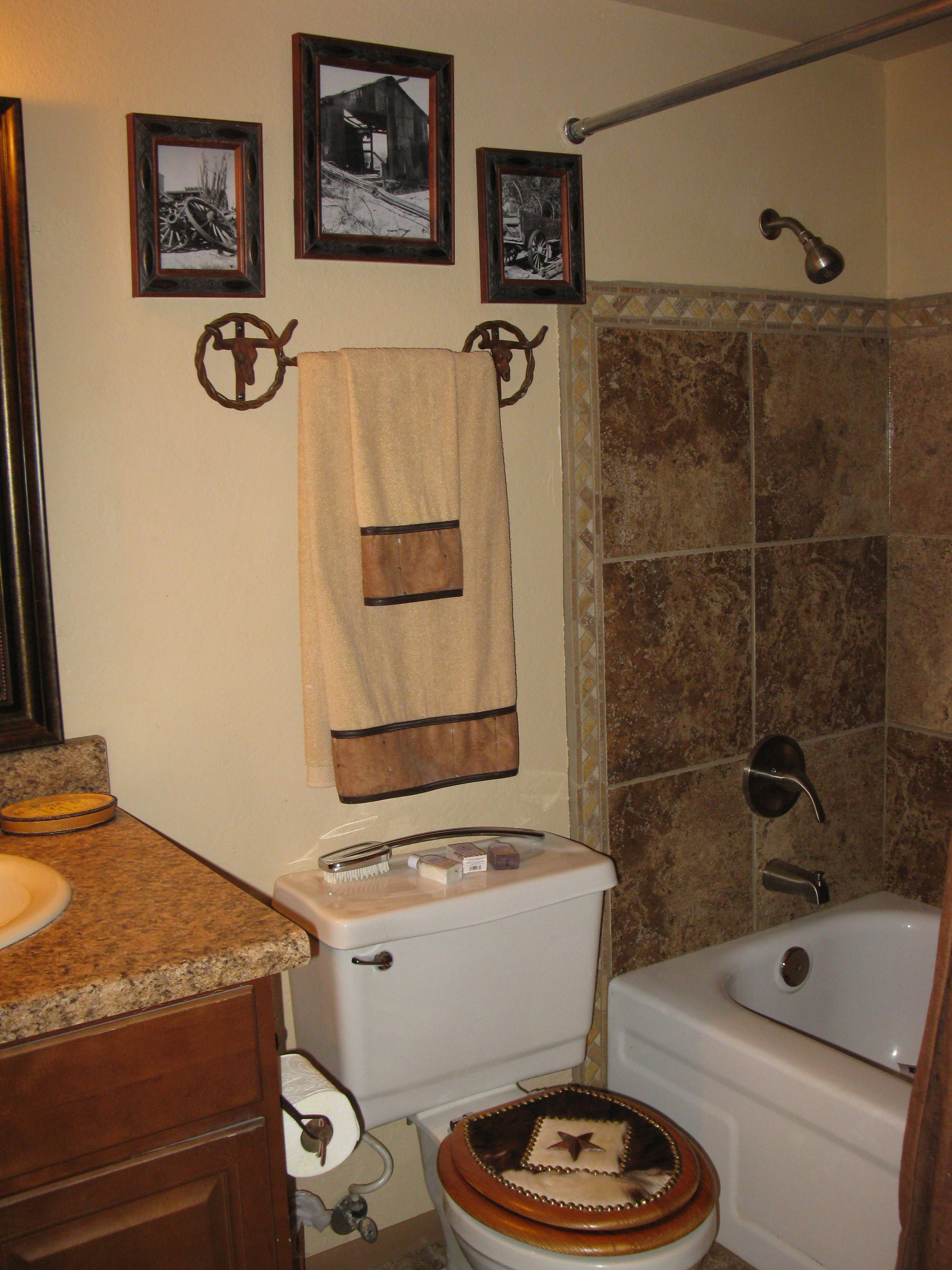 Western Bathroom Items That I Have Done To Our Home from