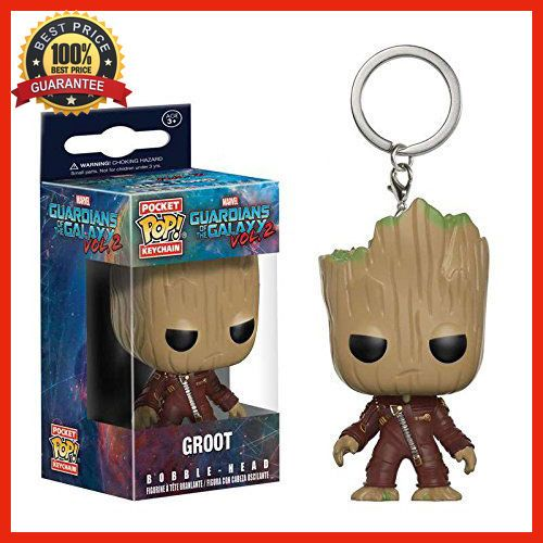 Funko Pocket POP KEYCHAIN Marvel-Guardians of the Galaxy Dancing Groot Figure
