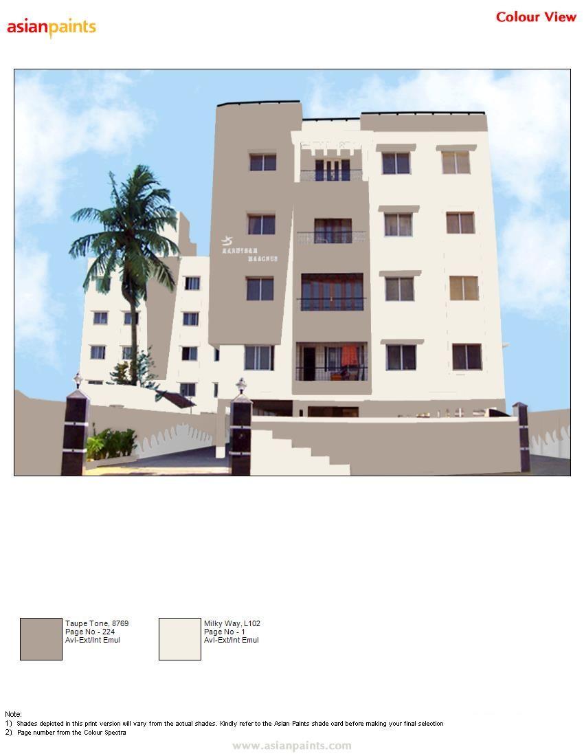 Front Elevation Color Scheme Asian Paint : Color for elevation exterior combination