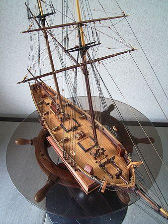 ハーベイ(Harvey) 帆船模型