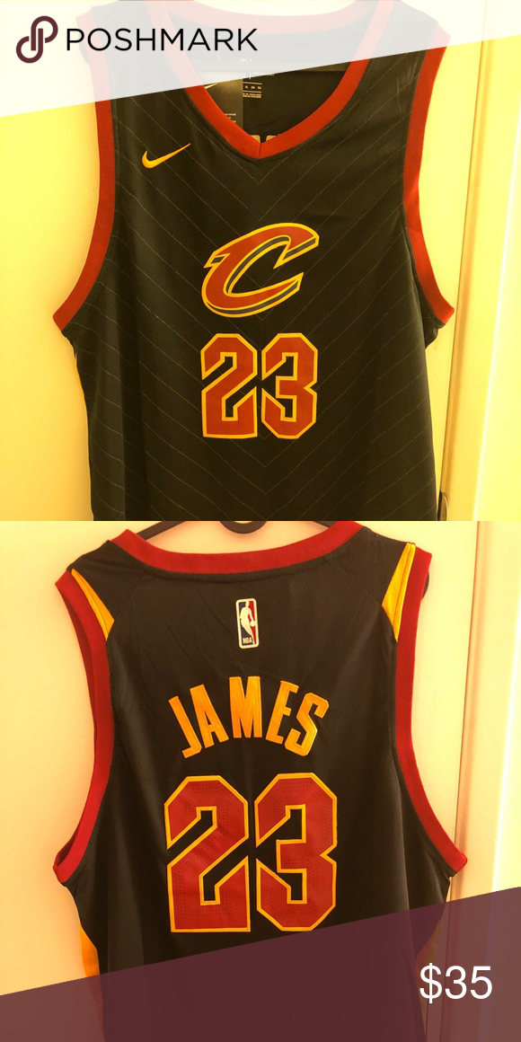 7f61f938 LeBron James #23 Cleveland Cavs Jersey Brand new with tag, all the letters  and numbers are stitched Nike Shirts Tank Tops